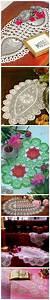 Free Filet Crochet Table Runner Diagram  Chart Pattern