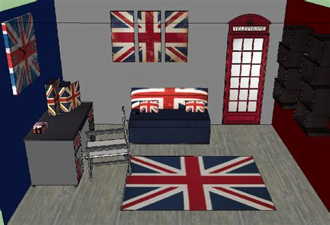 d馗oration chambre angleterre déco anglaise chambre ado