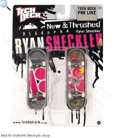 Plan B Tech Decks by Tech Deck New Trashed Model Plan B Skate Europe