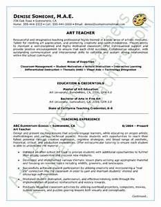 art teacher resume sample With sample resume for art and craft teacher