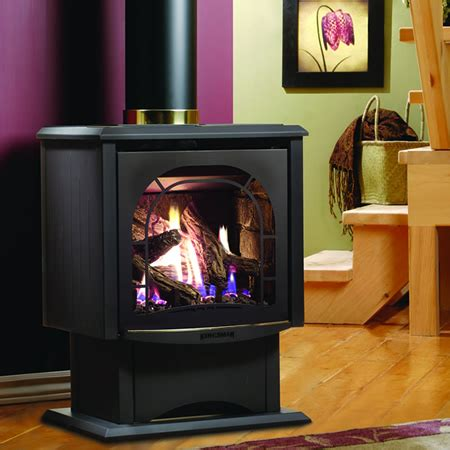 freestanding direct vent gas fireplace kingsman fdv200 free standing direct vent stove
