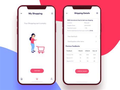 shopping cart  images mobile inspiration app