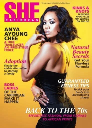 she magazine subscription she caribbean magazine vol 66 subscriptions pocketmags
