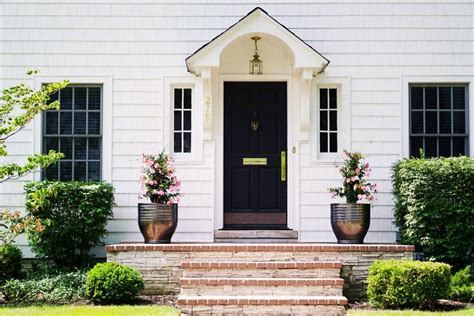 Lovely Imperfection  5 Easy Front Entrance Ideas  Lovely