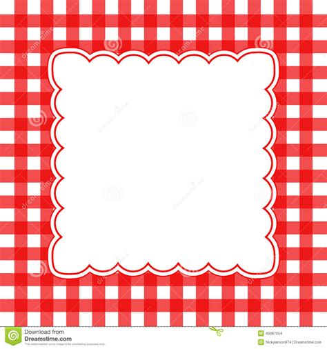 vector gingham background stock vector image