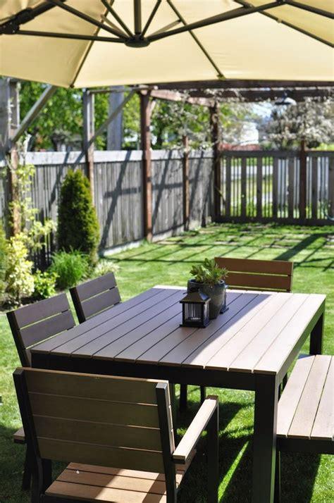 Ikea Garden by Best 25 Ikea Outdoor Ideas On Outdoor Dining