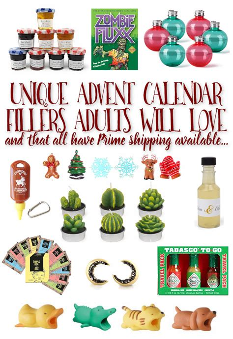 advent calendar fillers    prime shipping