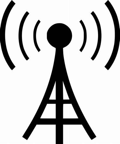 Tower Cell Icon Svg Icons Signal Radio