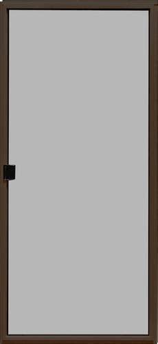 mastercraft bronze 6 ft sliding patio door screen kit lh