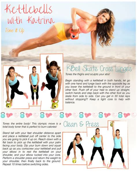 kettlebell workouts workout abs kettlebells exercises tone schedule buns fitness kettle printable bell core challenge toneitup training lb weight routines