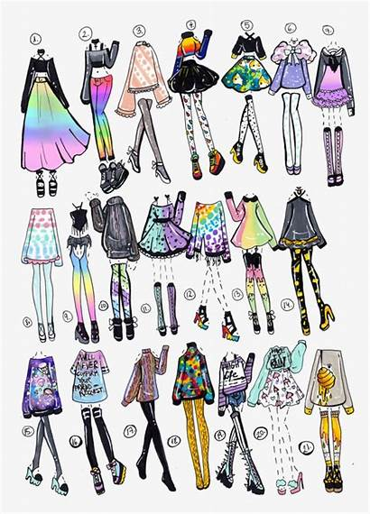 Oc Draw Drawing Outfit Clothes Clipart Clothing