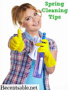 Spring Cleaning Tips  Checklist And Homemade Cleaners
