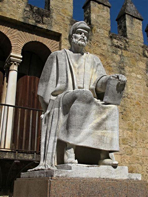 statue  averroes abu al walid ibn rushd al qurtubi