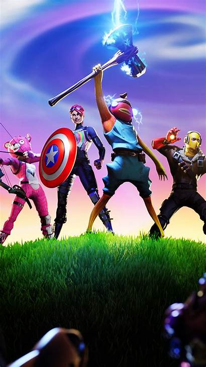Fortnite Avengers Wallpapers Background Iphone 4k Resolution