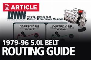Fox Body Belt Routing  U0026 Serpentine Belt Length Guide