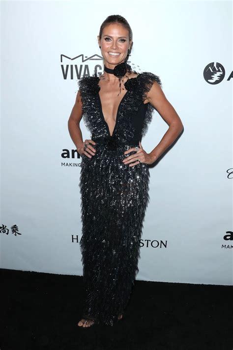 Heidi Klum Amfar Gala Los Angeles