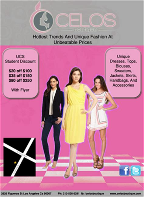 Brochure Design For Boutiques by Clothing Flyers Clothing Flyer Design At Designcrowd