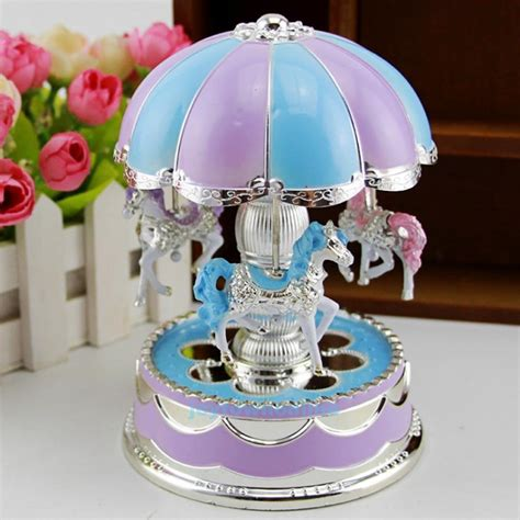 Get the best deals on collectable music boxes. LED Light Merry-Go-Round Music Box Christmas Birthday Gift Toy Carousel Decor | eBay