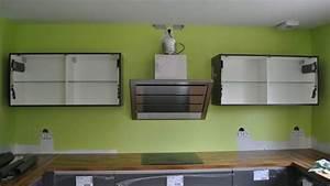 Meuble Haut De Cuisine : fixer meuble haut cuisine placo youtube ~ Teatrodelosmanantiales.com Idées de Décoration