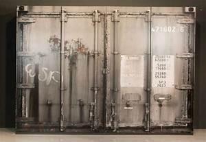Industrie Loft Möbel : kleiderschrank container vintage industrie design loft m bel 4 t rig 240cm 5901738015241 ebay ~ Sanjose-hotels-ca.com Haus und Dekorationen