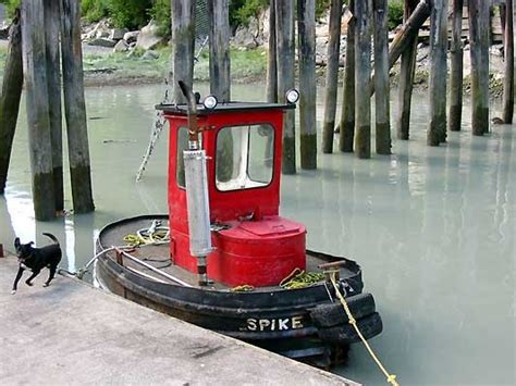 Tugboat Wod by Mini Tug Boat Used In Sawmill Log Pond Srg Boats