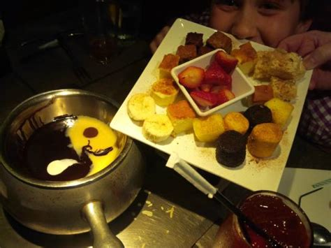 yin and yang dessert picture of melting pot restaurant