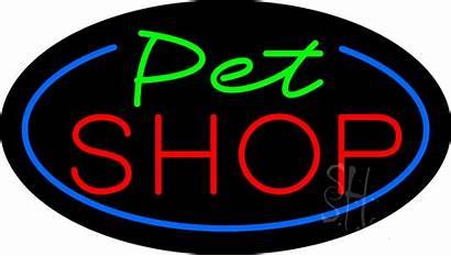 Pet Neon Flashing Signs