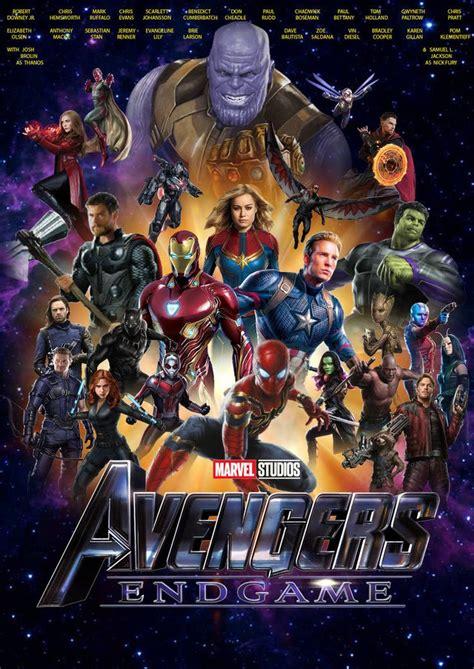 avengers endgame poster  joshuapenalba avengers