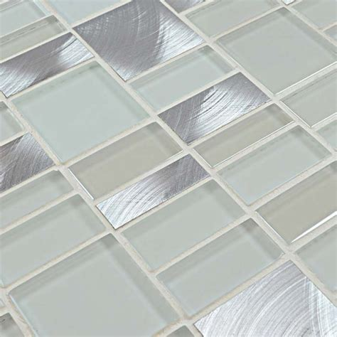 Bathroom Wall Tile Sheets by Tiling A Backsplash With Tile Sheets Tile Design Ideas