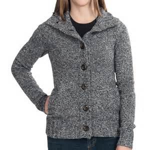 Black Cardigan Sweater Woman