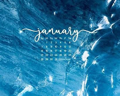 January Crosscards Desktop Calendar Computer Wallpapers 1024