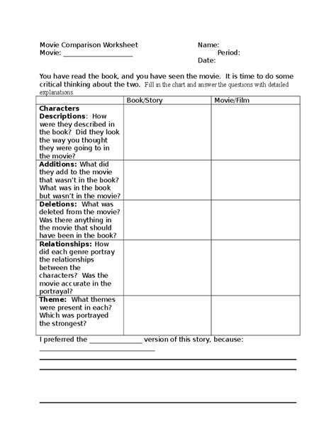 comparison chart template   templates   word
