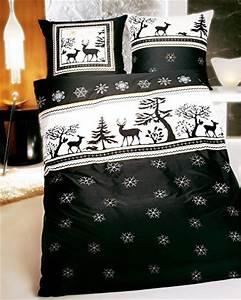 Bettwäsche Schwarz 200x200 : sch ne bettw sche aus biber weihnachten schwarz wei 200x200 von kaeppel bettw sche ~ Whattoseeinmadrid.com Haus und Dekorationen