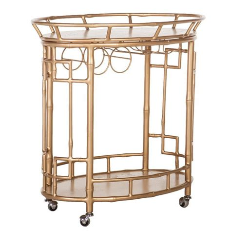 bar cart with wine rack dreste designs bar carts