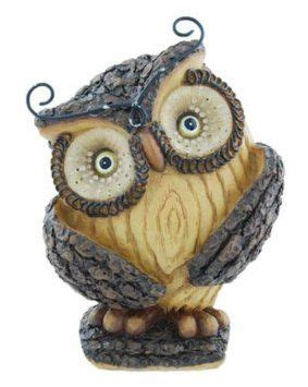 Beautiful Bird Owl Figurines Collectibles by Woodsy Whimsical Owl Figurine 4 5 Inch