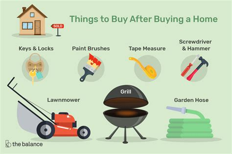 Things To Buy After Buying A Home