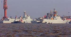 Type 052D Class Guided Missile Destroyer 172 and 173 ...