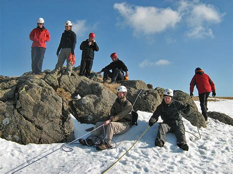 Improve Your Mountain Skills Winter Alpine