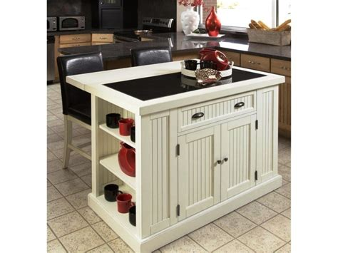 White Portable Kitchen Island — New Home Design  Portable