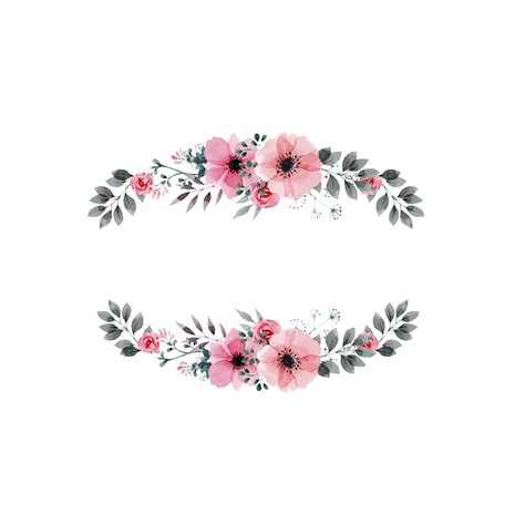 moldura floral googleda ara flores pinterest