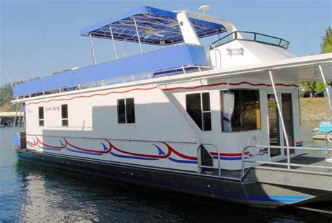 Open plan cabin $25,900 (includes electrical and flooring) 1 bedroom cabin $30,500 (with kitchen and bathroom fully insulated with 75/50mm eps. 2004 Sunstar Houseboat - $195000 (Bridge Bay Marina 3 With Permit) | Boats For Sale | Redding ...