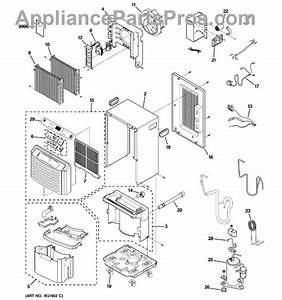 Parts For Ge Ahg30lkg1  Dehumidifier Parts