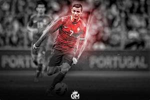 Cristiano Ronaldo Wallpaper by GraphicalManiacs on DeviantArt