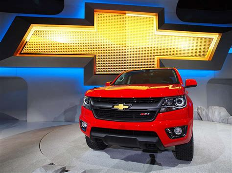 Chevy Will Present 2015 Chevrolet Colorado To World Series