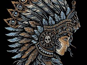Mayan Princess - Secret Artist by Derrick Castle - Dribbble