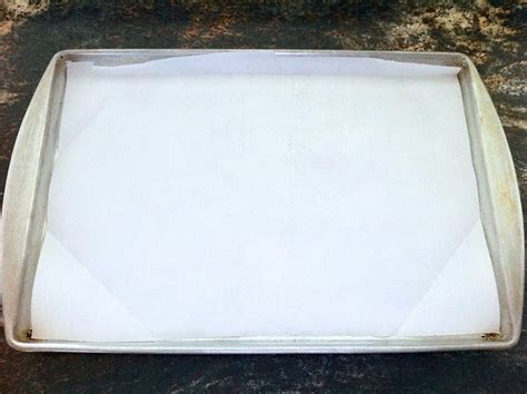 baking sheet parchment paper lined cooking line flickr bowl