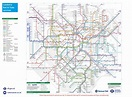 London train station map - Map of London train stations ...