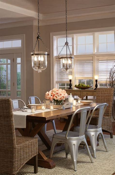 kitchen table lighting transform your dining area with farmhouse dining Farmhouse