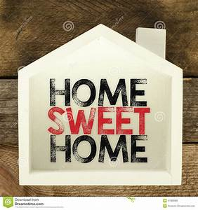 Home Sweat Home : home sweet home sign stock photo image 47983089 ~ Markanthonyermac.com Haus und Dekorationen