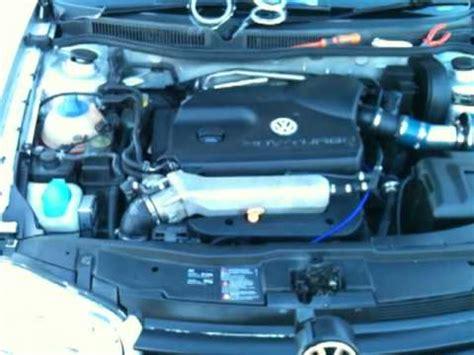 golf gti  turbo dump valve  induction kit noise